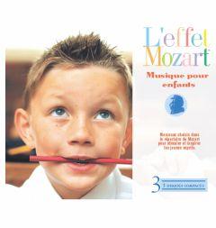 L'effet Mozart - Musique Pour Enfants (3/CD Box Set)